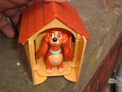 1997 Lady & The Tramp Dog House Kennel Figure In Used Please Study The Pics