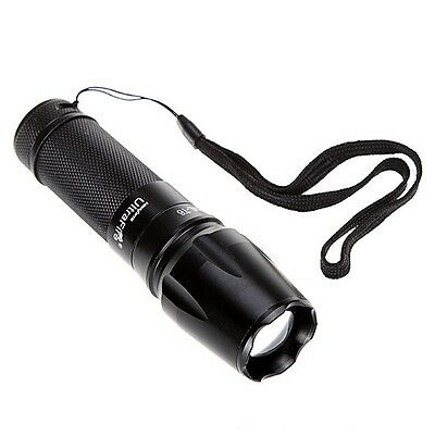 UltraFire CREE XM-L T6 Torch LED Flashlight 2000LM No Battery&Charger Free Ship