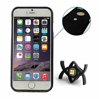 Tetrax XCase Case Cover with Smart Dash Mount Airvent Bundle for iPhone 6 Black