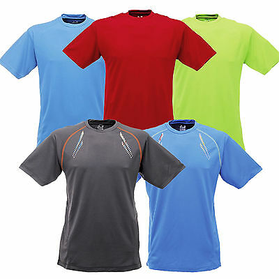 Dare 2b Lightweight Wick Away T-Shirt Gym Cycling Golf Antibac Training Tee New
