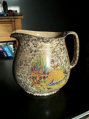VINTAGE EMPIRE ENGLAND LARGE JUG.