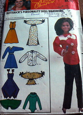 """GREAT VTG 11 1/2"""" and 12 1/4"""" BARBIE DOLL CLOTHING Sewing Pattern"""