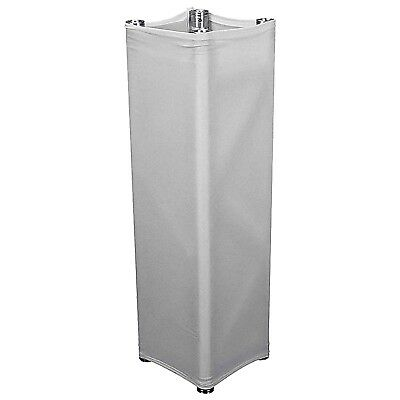 Global Truss GT-TC2.0 Truss White Scrim Cover For 6.56Ft Square Truss Section