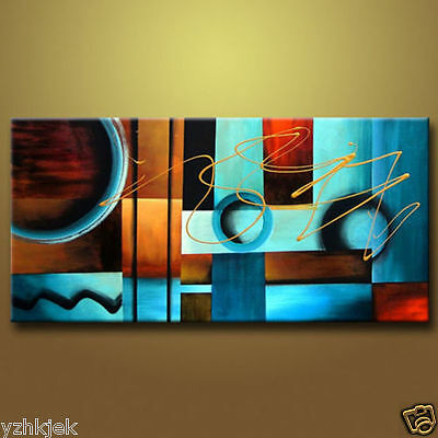 art Large Oil Painting On Canvas an Abstract Modern Art Wall Decor 48 INCH