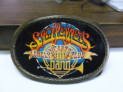 Vintage 1978 Sgt. Pepper's Lonely Hearts Club Band BEATLES Belt Buckle Rare