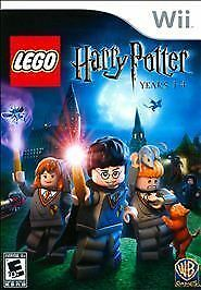 LEGO Harry Potter Years 1-4 COMPLETE GREAT Nintendo Wii