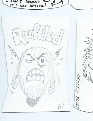 2014 Wacky Packages sketch card Fred Wheaton (b)