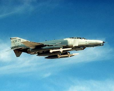 1992 MR F-4G Phantom II 69273 Wild Weasel of 35th Tactical Fighter Wing Photo