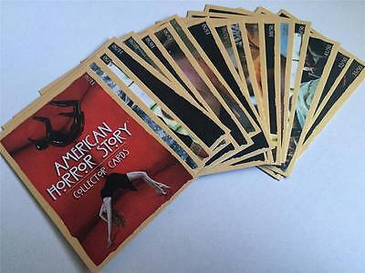 AMERICAN HORROR STORY -  GOLD CARDS - Make up your GOLD Card PARELLEL Set