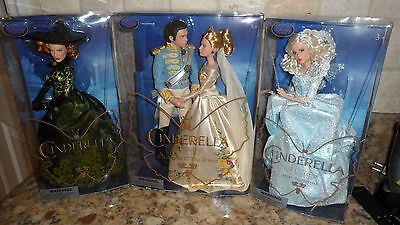 Cinderella and The Prince Disney Film Collection Doll, Lady Tremaine & Godmother