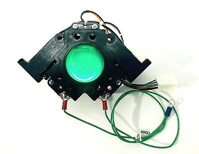 "2 1/4 "" Happ   Illuminated  Green  Trackball"