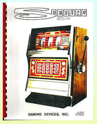 Seeburg  E. M. Slot Machine Service Manual