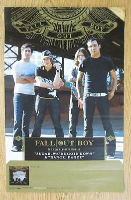 Fall Out Boy Cork Tree Original Promo Poster 2005