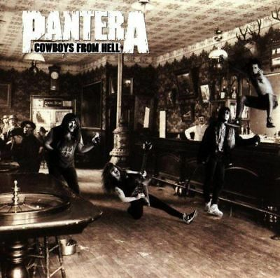 Pantera - Cowboys From Hell NEW CD