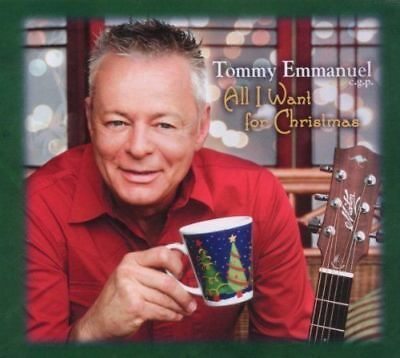 Tommy Emmanuel - All I Want For Christmas NEW CD