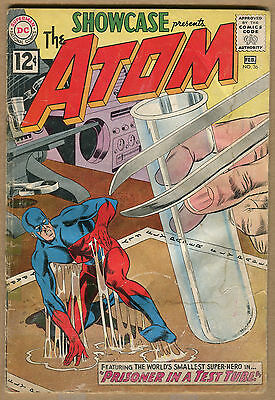 Showcase #36 - The Atom - 1961 (Grade 1.0) WH