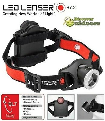 NEW LED Lenser H7.2 Series 2 Headlamp Torch MINING- LATEST technology LED LENSER