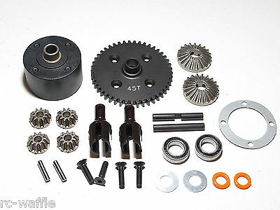 AGMA8-USA AGAMA A8 EVO BUGGY 45T CENTER DIFFERENTIAL