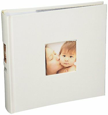 Pearhead Side Photo Album, Ivory, New, Free Shipping