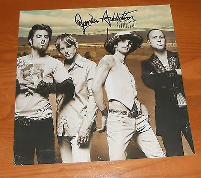 Jane's Addiction Strays Poster 2-Sided Flat Square 2003 Promo 12x12 RARE