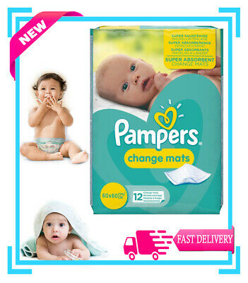 Pampers Super Absorbent Baby Disposable Changing Mats