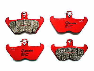 4 Front Brake Pads Brembo Sa Sintered For Bmw R 850 R 1998 1999 (07Bb24Sa)