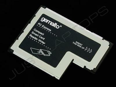 New Genuine Germalto Lenovo 54mm ISO-7816 ExpressCard Smart Card Reader