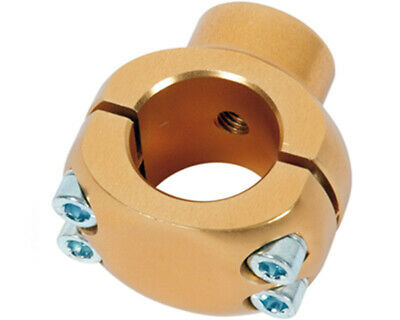 Wildkart 30mm Gold Chassis Mushroom Clamp for Seat Stay / Lead UK KART STORE