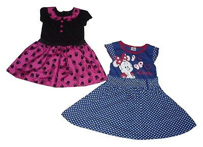 Girls dress outfit party dress costume official Disney Minnie Mouse