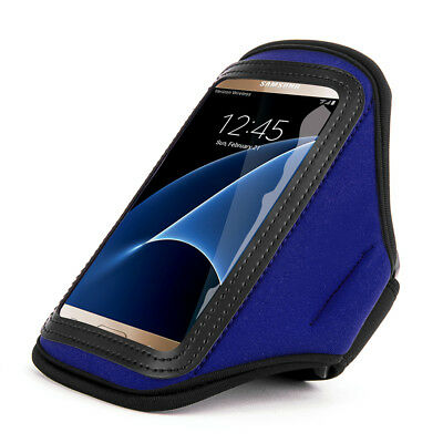 Black/Gray Workout Running Gym Armband Case for Samsung Galaxy S5 Active Sport