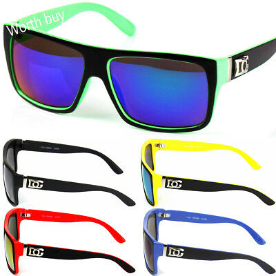 New DG Eyewear Square Designer Sunglasses Shades Mirrored Color Lens Mens Womens