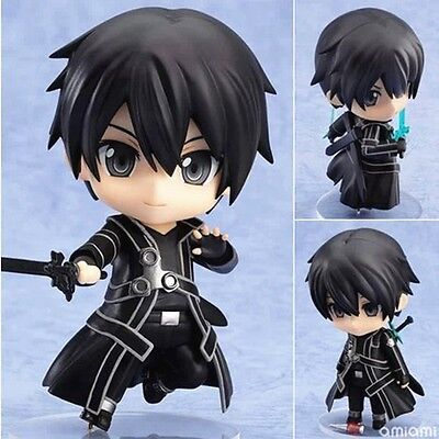 #295 Anime Sword Art Online Kirito Nendoroid PVC Figure NO Box