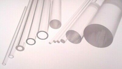 Plastic Acrylic Rod, Tube Extruded Clear Perspex Rod Bar, Hollow Tubular Section