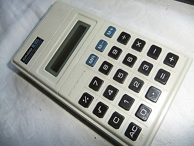 Calculator hand held CASIO HL-805 ELECTRONIC  .... 68