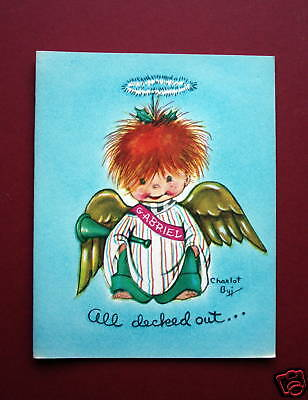 """Darling Charlot Byj Christmas Card, """"All decked out.."""""""