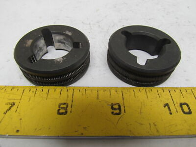 Miller 132961 Drive Roll 3/32 VK Groove 2.4mm Lot of 2pcs