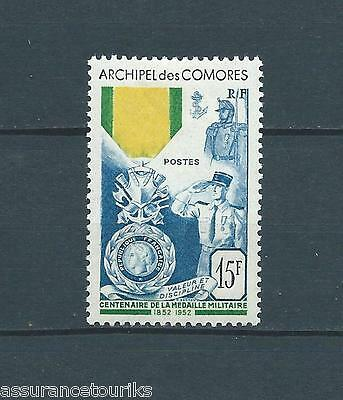 COMORES - 1952 YT 12 - TIMBRE NEUF* charnière