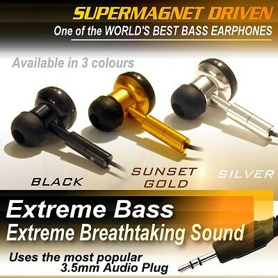 EXTREME MEGA SUPER BASS EARPHONES / Earbuds Headphones NICE SOUND HIGH QUALITY