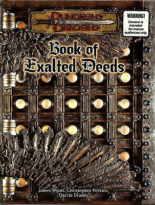 D&D - Dungeons & Dragons Ed 3.5:  Book of Exalted Deeds - Libro Imprese Eroiche