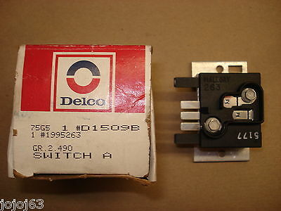Dash Lamp Dimmer Switch, NOS  1995263.  84-05 Chevy/Buick/Corvette/Olds/Pontiac
