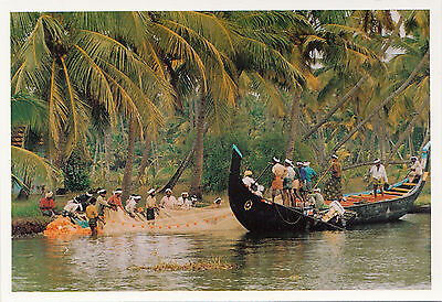 (38199) Postcard -  India - Kerala Backwaters #1