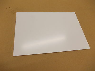 2.5MM WHITE UPVC SHEET MATT FINISH 800mm X 400mm Cladding Splashbacks