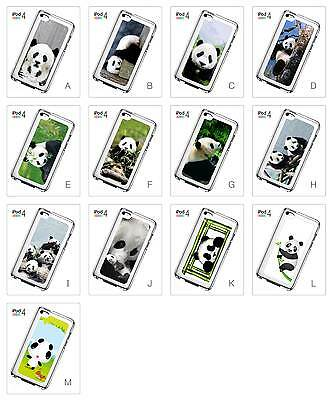 Panda Mother Baby Cute Lovely Cartoon Design Hard Case for iPod Touch 4 4th Gen