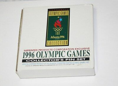 1996 Olympic Games Collectors Pin Set