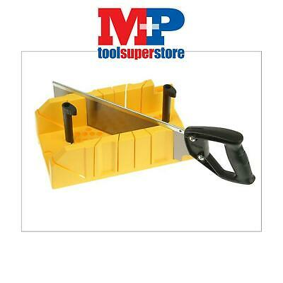 STANLEY 120600 Clamping Angle Mitre Box & Saw