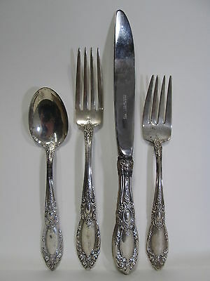 4 Pc. Towle Sterling Silver Place Setting 1932 King Richard #6