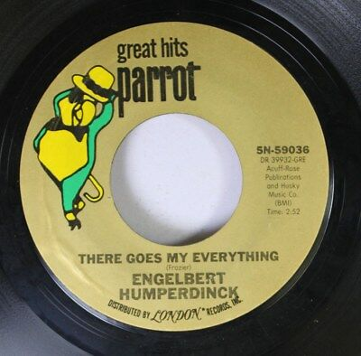 Pop 45 Engelbert Humperdinck - There Goes My Everything / Release Me (And Let Me