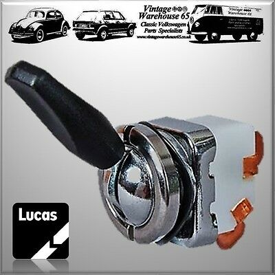 Classic Land Rover 88 90 108 110 65SA Lucas 12v Dashboard On Off  Flick Switch