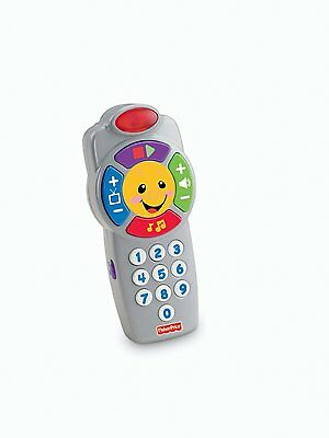 Fisher-Price Laugh  Learn Click 'n Learn Remote, New, Free Shipping