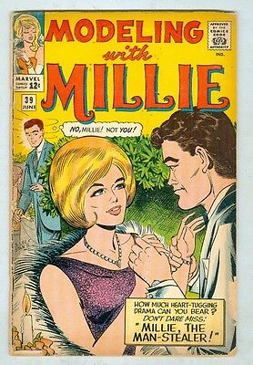 Modeling With Millie #39 June 1965 G/VG